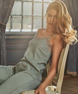 Pyjamabroek Doutzen Groen
