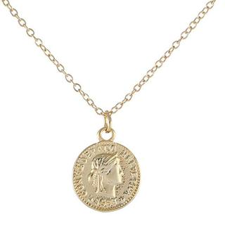 CUTE COIN NECKLACE GOLD