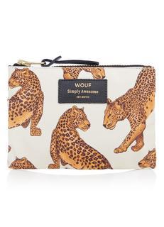 Leopard portemonnee met dessin