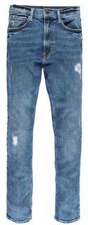 Dames  Denim blauwe Jeans