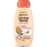 Garnier Loving Blends Vanille en Papayapulp 2 in 1 Shampoo - 300 ml - Shampoo