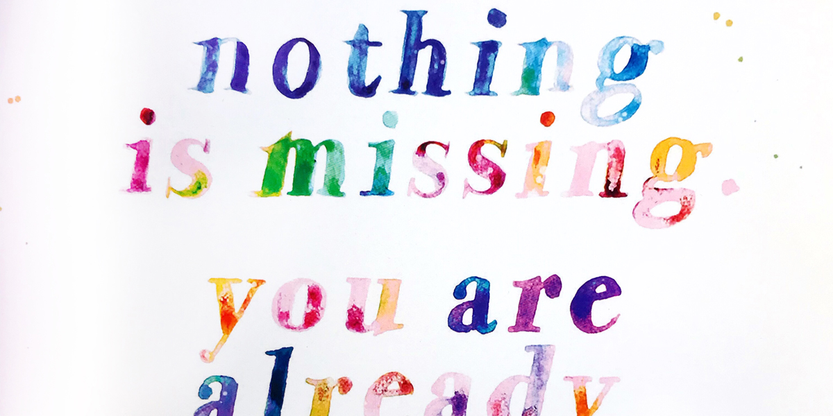 Quote nothing is missing