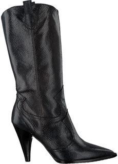 Zwarte Lange Laarzen Sendel-sr