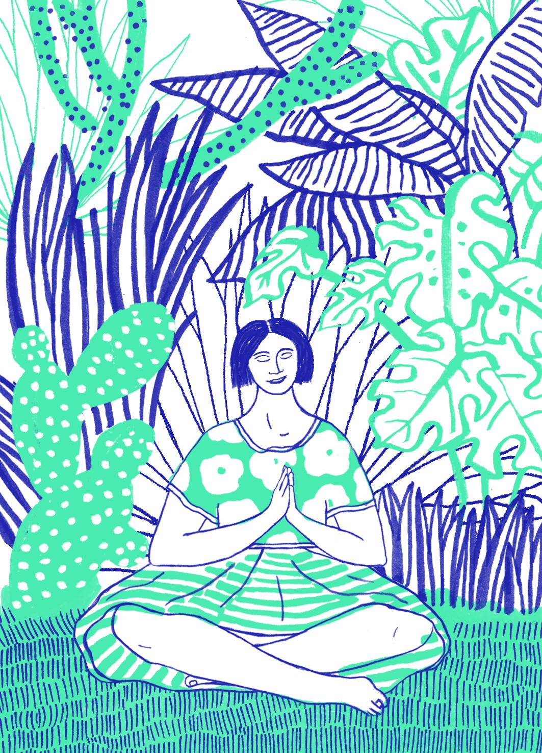 Ademruimte meditatie oefening mindfulness Hadas Hayun
