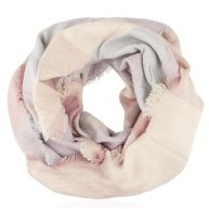 Checked Pastel Scarf