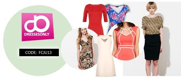 Kortingscode Dresses Only