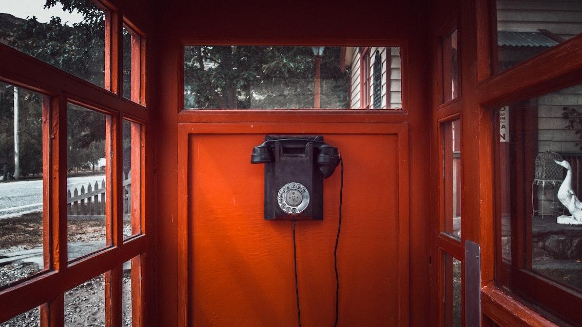 telefoon van de wind