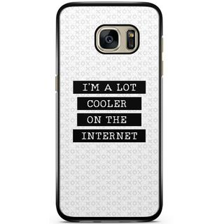Samsung Galaxy S7 hoesje - Cooler on the internet