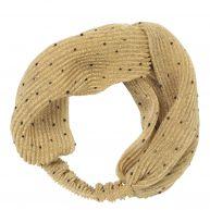 Haarband met stippen van becksondergaard, goud