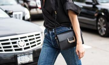 De 21 mooiste zwarte schoudertassen