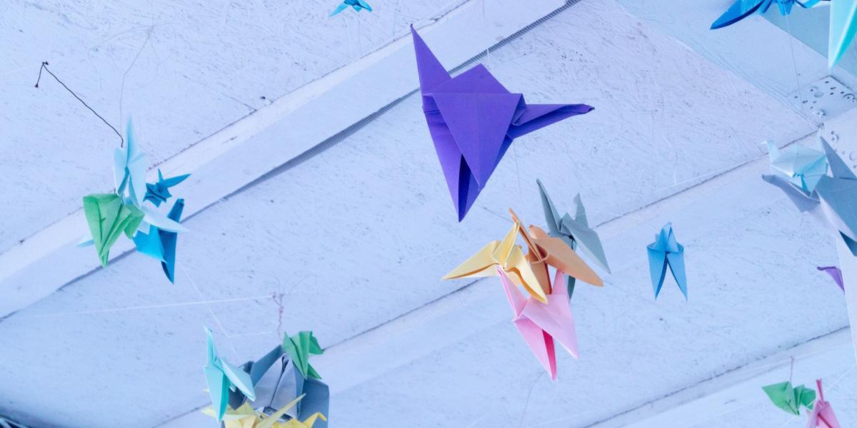 origami leren vouwen