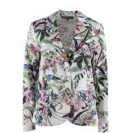 blazer met bloemenprint