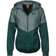 Nike W windbreaker olijf groen