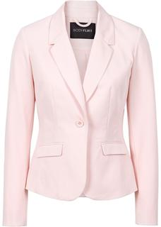 Dames businessblazer lange mouw in roze