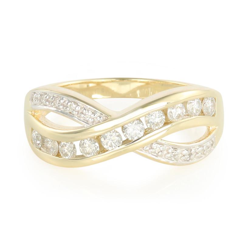 Anello In Oro Con Diamanti Juwelo RMAzhwz