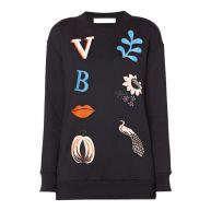 Victoria Victoria Beckham Sweater met patches
