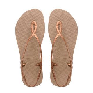 Luna sandalen koper Schoen