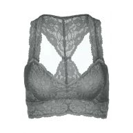 Free People Bustier graphite