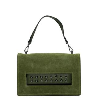 5609260346d Leather Collection handtas green. €48.97. Duifhuizen