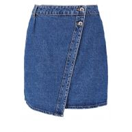 Vero Moda VMSUSANNA Jeansrok medium blue denim