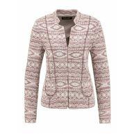 Gerry Weber Blazer modern pattern sparkly pink roze