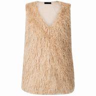 Fashionize - Gilet Fluffy Beige