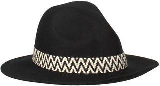 Zwarte Hoed Motor Western Hat