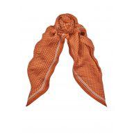 Sandro Azusa vierkante sjaal van zijde 85 x 85 cm