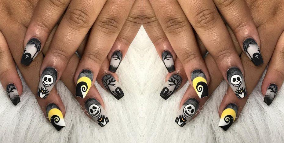 12x De Allermooiste Halloween Nail Designs