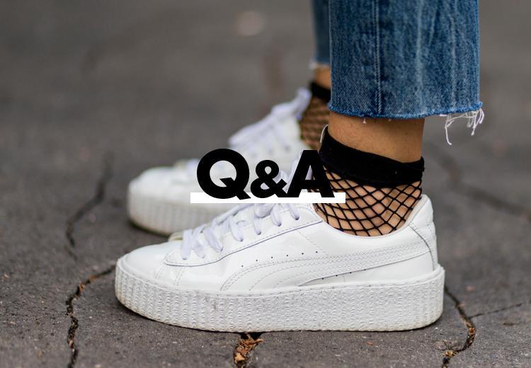Q&A: Wat zijn de sneaker trends van dit seizoen?