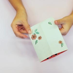 Fold gift bag