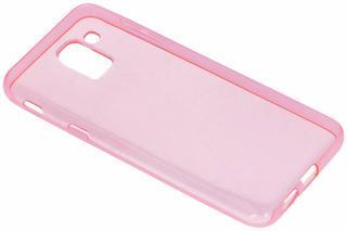 Roze gel case voor de Samsung Galaxy J6