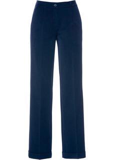 Dames marlènebroek in blauw