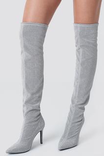 Lurex Overknee Boots