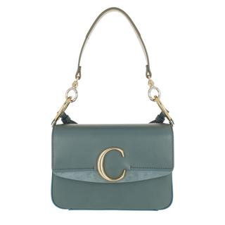 aca679c5626 Tasche - Double Carry Small Shoulder Bag Leather Cloudy Blue in blauw voor  dames - Gr