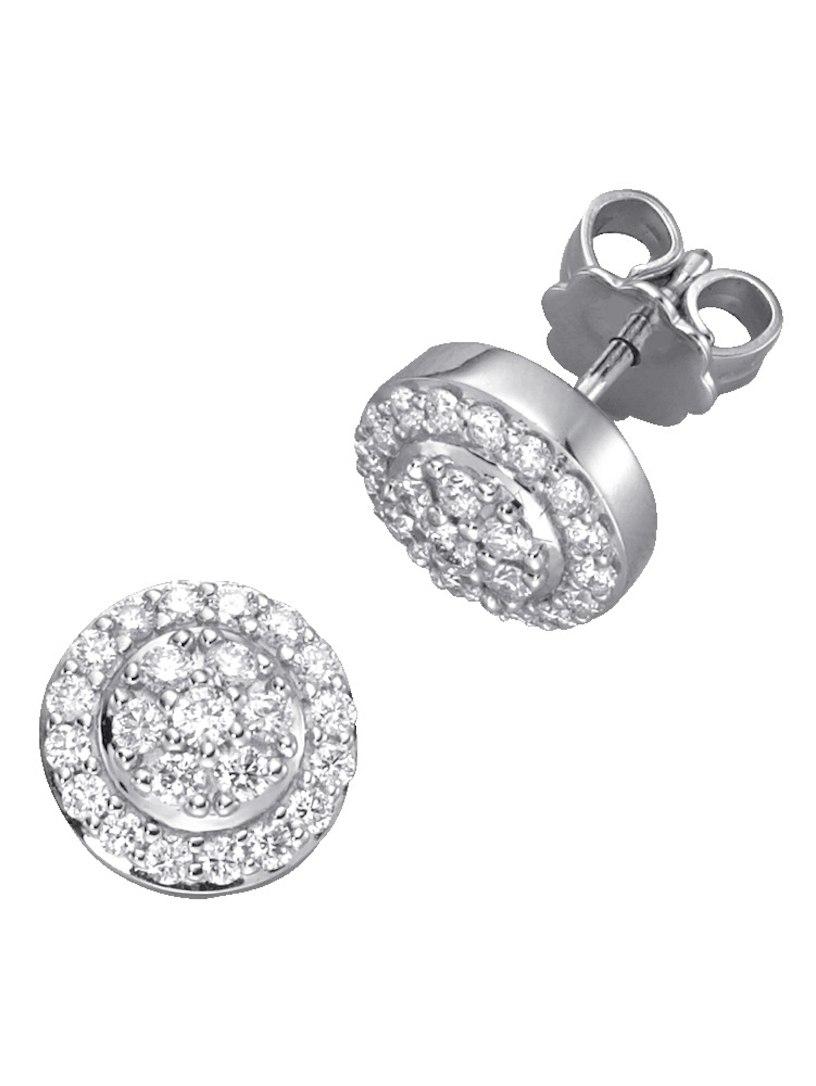 Orecchini Di Diamanti Diemer Con Diamanti Bianchi A7oLAd2c