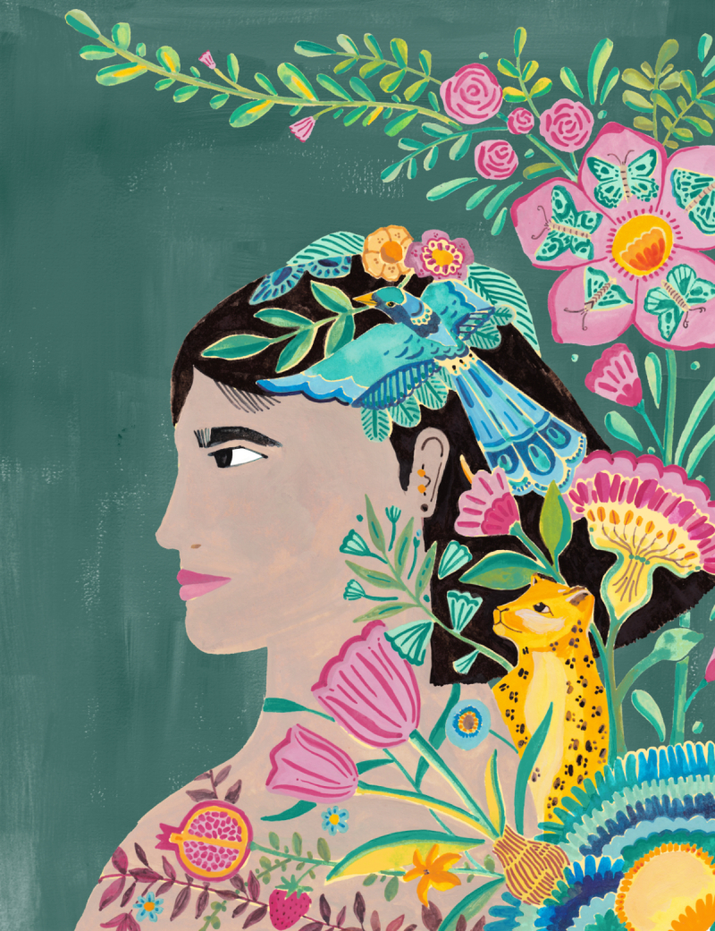illustrator Hadas Hayun