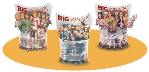 Big Wraps: samen sterk!