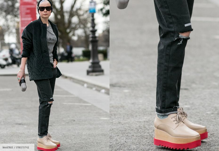 Plateau schoenen
