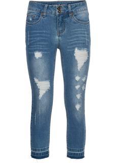 Dames skinny jeans in blauw