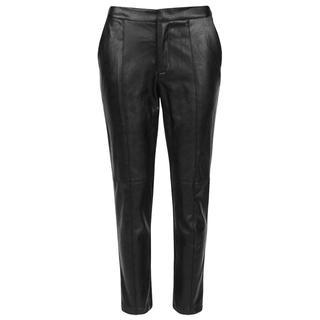 Zwarte pantalon leatherlook