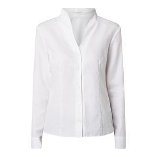Katoenen blouse met kelkkraag
