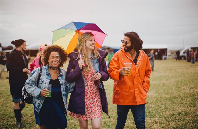 festival kleding regen