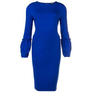 jurk nicol-w18 in het Kobalt