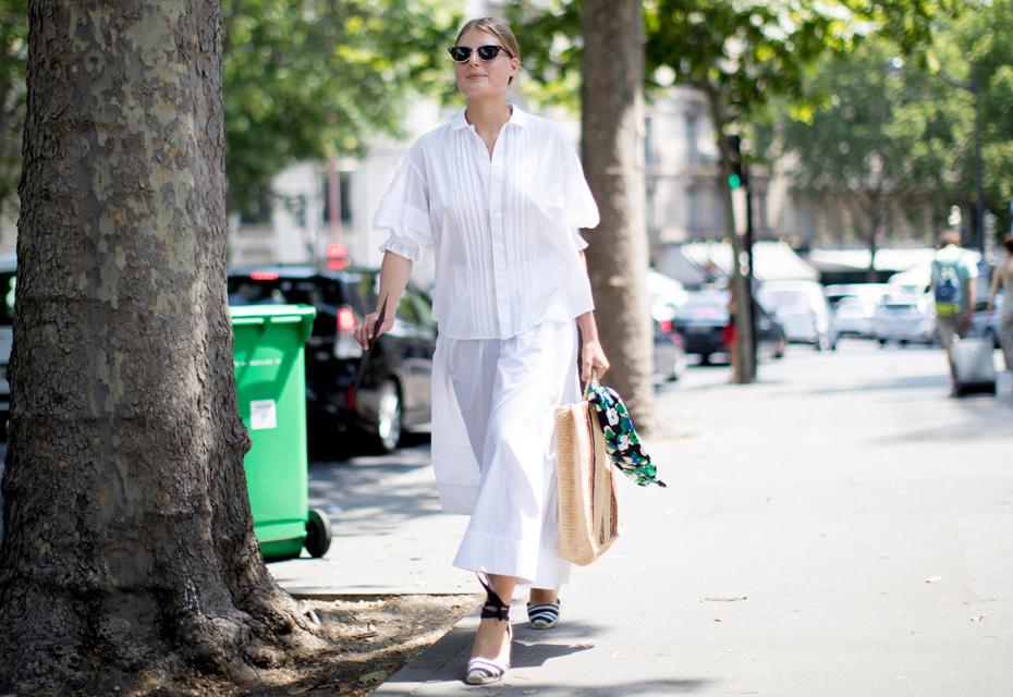 Zo draag je wit deze zomer