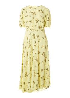 Decora midi-jurk met bloemendessin