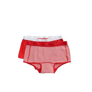 shorts Stripe and flame scarlet 2 pack maat 98/104