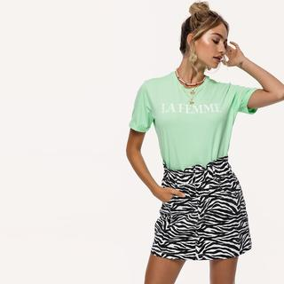 mint groen it-shirt