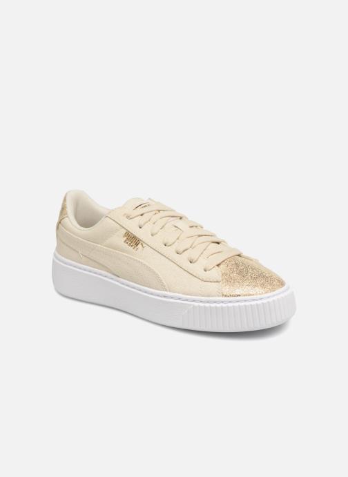 By Sneakers Canvas Wn's Puma Basket Platform q34jRALc5S