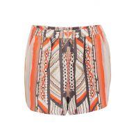 Mayan temple shorts